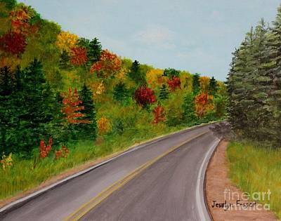 Painting - Along The Cabot Trail by Jesslyn Fraser