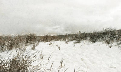Storm Clouds Cape Cod Photograph - Along The Cape Cod National Seashore by Michelle Wiarda