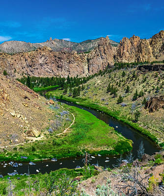Redmond Photograph - Along The Crooked River by Ryan Manuel