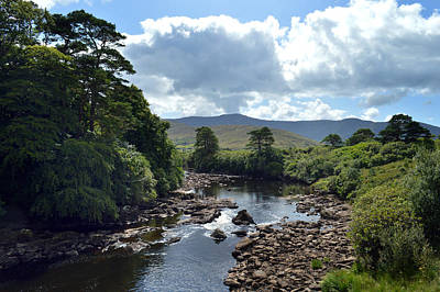 Photograph - Along The Erriff River. by Terence Davis
