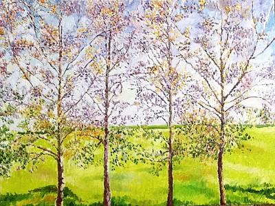 Painting - Along The Highway by Aditi Bhatt