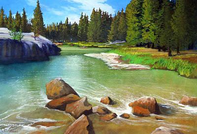 Robert Duvall Painting - Along The John Muir Trail by Robert Duvall