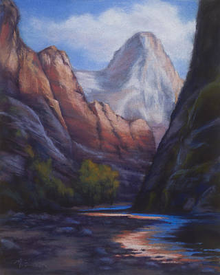 Along The Narrows Art Print