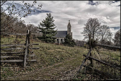 Photograph - Along The Path by Erika Fawcett