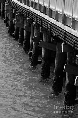 Photograph - Along The Pier by Barbara Bardzik