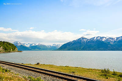 Photograph - Along The Seward Highway by Shey Stitt