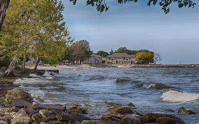 Photograph - Along The Shores Of Marblehead by John M Bailey