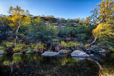 Photograph - Along The Yahi Trail by Robert Woodward