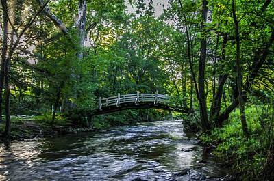 Along Valley Creek At Valley Forge Art Print