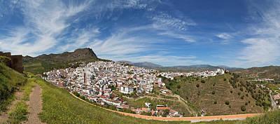 Malaga Province Photograph - Alora Village, Malaga Province by Panoramic Images
