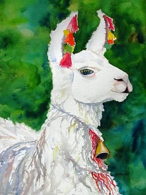 Alpaca With Attitude Original by Carlin Blahnik