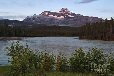 Photograph - Alpenglow On Mount Christie by Charles Kozierok