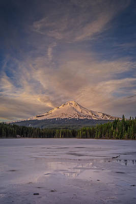 Photograph - Alpenglow by Rick Berk