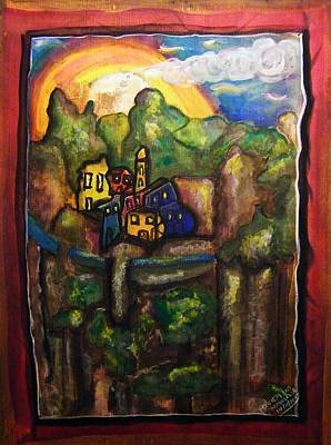 Alpes Maritimes - Childhood Memories Art Print by Mimulux patricia no No