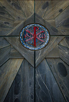 Photograph - Alpha And Omega Chi Rho by David Morefield
