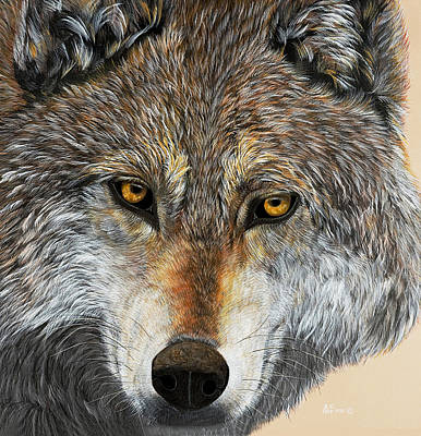 Alpha Male Art Print
