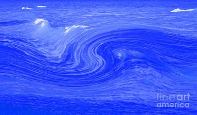 Alpha Wave By Jrr Art Print