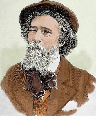 Alphonse Photograph - Alphonse Daudet (1840-1897 by Prisma Archivo
