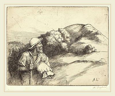 Alphonse Legros, Return From The Fields Le Retour Des Champs Art Print by Litz Collection
