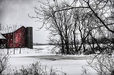 Alpine Barn Michigan Art Print