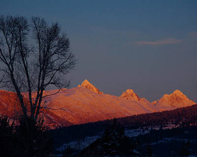 Photograph - Alpenglow by Raymond Salani III