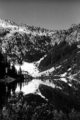 Photograph - Alpine Lake August 1975 #1 by Ben Upham III