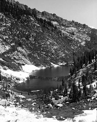 Photograph - Alpine Lake August 1975 #2 by Ben Upham III