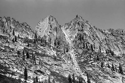 Photograph - Alpine Lake August 1975 #3 by Ben Upham III