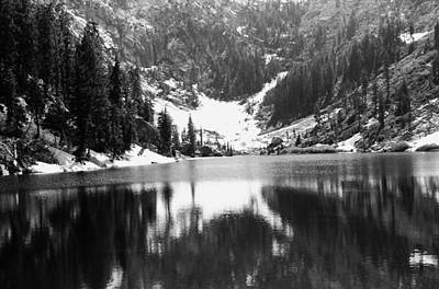 Photograph - Alpine Lake August 1975 #4 by Ben Upham III