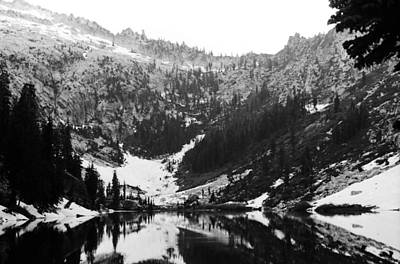 Photograph - Alpine Lake August 1975 #5 by Ben Upham III