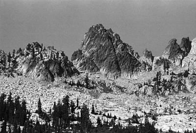 Photograph - Alpine Lake August 1975 #7 by Ben Upham III