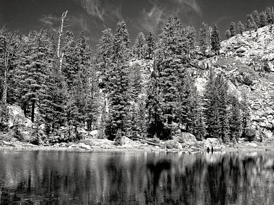 Alpine Lake Art Print