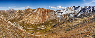 Alpine Loop Scenic Byway Trail Passing Art Print by Panoramic Images