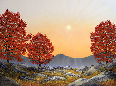 Painting - Alpine Meadow II by Frank Wilson