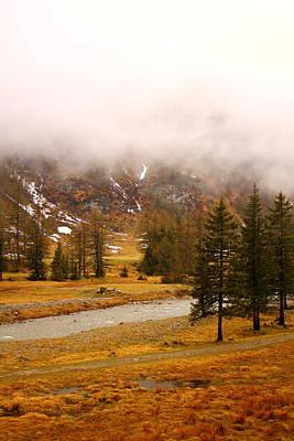 Alpine Mist Art Print
