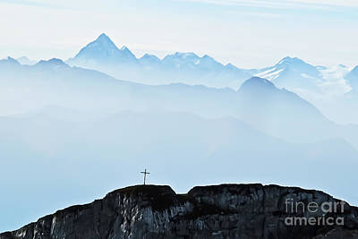 Photograph - Alpine Pulpit by Elvis Vaughn