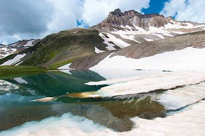 Photograph - Alpine Reflection In The San Juans by Cascade Colors