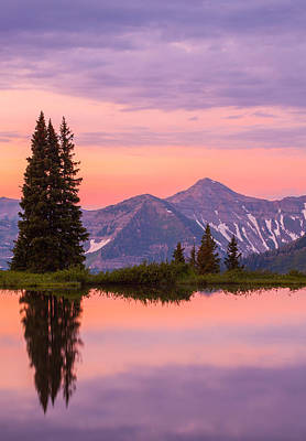 Photograph - Alpine Sunrise by Darren  White