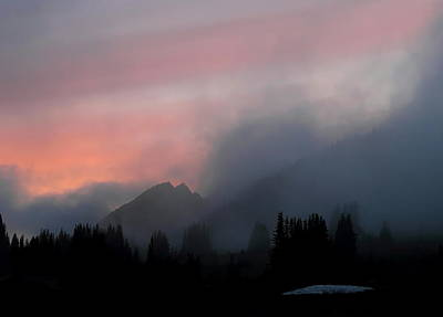 Photograph - Alpine Sunset by Angie Vogel