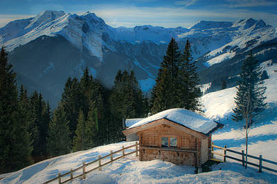Photograph - Alpine View by Chris Boulton