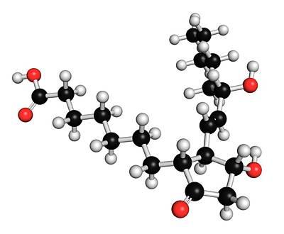 Chemical Photograph - Alprostadil Erectile Dysfunction Drug by Molekuul