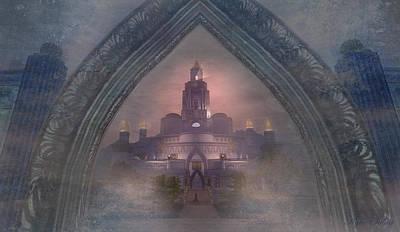 Alqualonde Castle Art Print