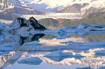 Photograph - Alsek Glacier In St. Elias Mountains by Art Wolfe