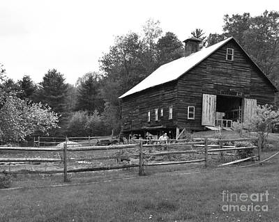Alstead Barn Art Print