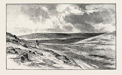 Parish Drawing - Alston Moor Is An Area Of Moorland And Civil Parish by English School