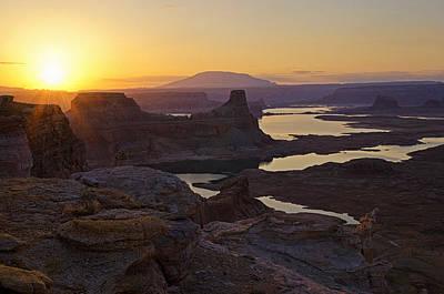Photograph - Alstrom Point Sunrise  by Saija  Lehtonen