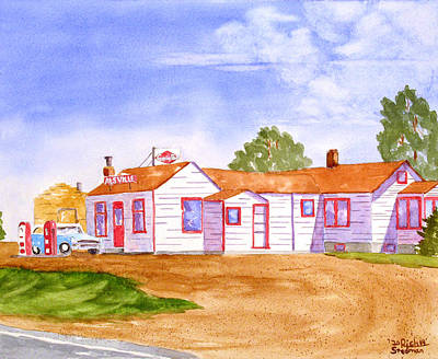 Painting - Alsville by Rich Stedman