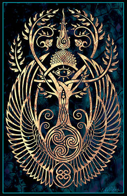 Celtic Knotwork Digital Art - Altar #1 by Cristina McAllister