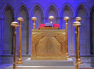 Photograph - Altar At Bryn Athyn Cathedral by Val Miller