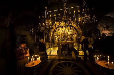 Photograph - Altar Of The Crucifixion by David Morefield